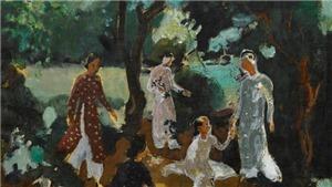 Từ phiên đấu giá tranh tại Hong Kong: Tranh của các họa sĩ Pháp vẽ Việt Nam gây sốt