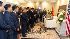 Đại sứ quán Việt Nam tại Hoa Kỳ tổ chức lễ viếng nguyên Tổng Bí thư Đỗ Mười
