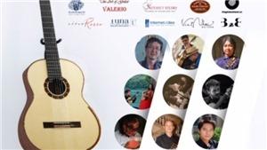 Giải thưởng 5.500USD tại LH Guitar quốc tế Alma Hà Nội