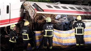 Hơn 200 người thương vong trong vụ tai nạn đường sắt ở Đài Loan (Trung Quốc)