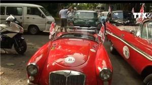 Lễ hội diễu hành xe cổ ở thủ đô La Habana, Cuba