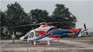 Cận cảnh trực thăng Ansat và Mi-171A2 của Nga tại sân bay Gia Lâm