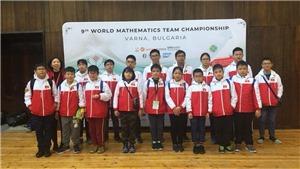 Học sinh Hà Nội đạt thành tích cao tại Cuộc thi 'Vô địch các đội tuyển Toán thế giới'