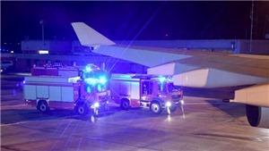Chuyên cơ chở Thủ tướng Đức Angela Merkel phải hạ cánh khẩn cấp do sự cố kỹ thuật