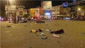 Thành phố Hồ Chí Minh: Ô tô gây tai nạn liên hoàn, 4 người bị thương
