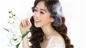 Ngắm vẻ đẹp ngọt ngào của Á hậu Phương Nga trong bộ ảnh làm cô dâu