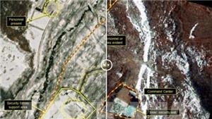 Trang mạng '38 North': Bãi thử hạt nhân của Triều Tiên chưa bị phá bỏ hoàn toàn
