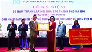 Báo chí Hà Nội quyết tâm làm tròn sứ mệnh xung kích trên mặt trận tư tưởng