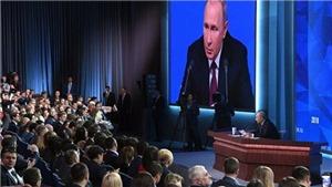 Những vấn đề đối nội và đối ngoại nổi bật trong cuộc họp báo 2018 của Tổng thống Nga V.Putin