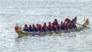 Đua thuyền tứ linh - Văn hóa biển đặc sắc của Lý Sơn