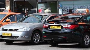 Hàn Quốc lần đầu tiên xử phạt 730 taxi từ chối đón khách