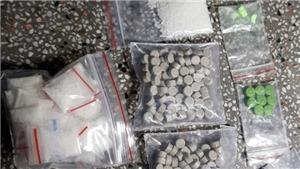 Bắt ba đối tượng, phát hiện 9kg ma túy đá và 2.000 viên ma túy tổng hợp