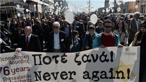 Tưởng niệm 76 năm 'chuyến tàu chết chóc Holocaust' đưa người Do Thái rời quê hương