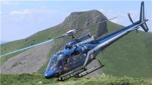 Rơi trực thăng ở Chile, 6 người thương vong