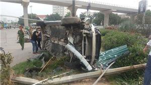 Xác định danh tính lái xe gây tai nạn liên hoàn tại gầm cầu vượt Mai Dịch