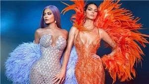 Những bộ cánh Versace từ quyến rũ đến hở bạo từng 'khuynh đảo' thảm đỏ thế giới