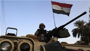 Ai Cập tiêu diệt 16 phần tử khủng bố tại khu vực Bắc Sinai