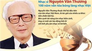 Nhạc sĩ Nguyễn Văn Thương: 100 năm vẫn tỏa bóng làng nhạc Việt