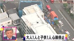Tấn công bằng dao tại trường tiểu học Nhật Bản làm nhiều học sinh bị thương