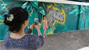 'Chuyến xe nghệ thuật hoang dã' xuyên Việt kêu gọi bảo vệ động vật