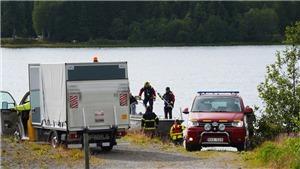 Máy bay rơi tại Thụy Điển, 9 người thiệt mạng