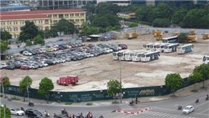 Hà Nội đóng cửa bãi trông giữ xe lớn trái phép ở quận Cầu Giấy