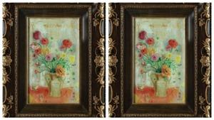 Tranh 'Sắc hoa' của Lê Phổ bán 27.000 USD