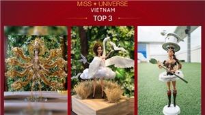 Top 3 trang phục dân tộc thi Miss Universe 2019: Thiết kế được bình chọn khủng vẫn bị loại