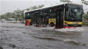 Ứng phó với bão số 3: Đảm bảo an toàn giao thông cho người dân Thủ đô Hà Nội