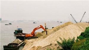 Hà Nội sẽ đấu giá quyền khai thác khoáng sản đối với 5 điểm mỏ cát