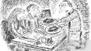 Truyện cười bốn phương: Chất lượng nhà hàng