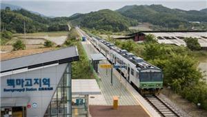 Hàn Quốc ra mắt tuyến 'tàu hỏa hòa bình' đến các điểm du lịch quan trọng dọc DMZ