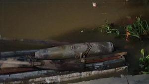 Phát hiện bom trên sông Tam Bạc, Hải Phòng