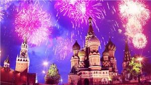 VIDEO: Lễ hội pháo hoa rực sáng bầu trời Kaliningrad, Nga