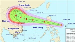 Cập nhật diễn biến mới nhất của áp thấp nhiệt đới