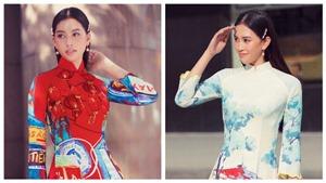 Hoa hậu Tiểu Vy đẹp dịu dàng trong BST áo dài 'Sài Gòn ơi!' của NTK Liên Hương