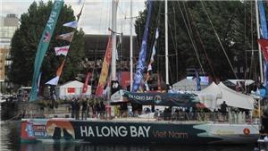 Thuyền buồm 'Ha Long Bay -Viet Nam' tham gia cuộc đua vòng quanh thế giới