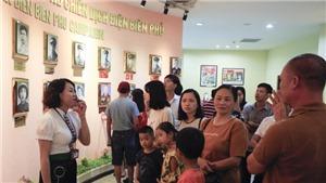 Di tích Chiến trường Điện Biên Phủ thu hút đông du khách dịp nghỉ lễ Quốc khánh