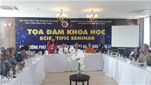 Hướng đi nào cho phát triển Học viện Múa Việt Nam?