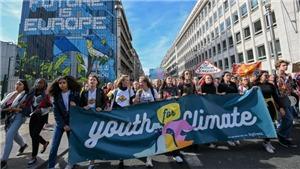 Tuần hành trên khắp thế giới hưởng ứng phong trào 'Thứ Sáu vì Tương lai'