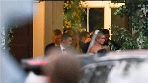 Những hình ảnh đầu tiên về đám cưới của Justin Bieber được hé lộ