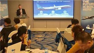 Boeing dự báo Việt Nam là động lực phát triển hàng không tại Đông Nam Á