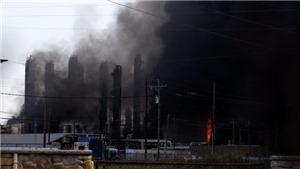 Mỹ: Hỏa hoạn tiếp diễn sau vụ nổ nhà máy hóa chất ở Texas