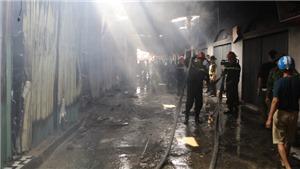 Ninh Bình: Cháy chợ Gián Khẩu gây thiệt hại hàng tỷ đồng