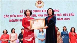 Kỷ niệm Ngày Nhà giáo Việt Nam 20/11: Hà Nội tôn vinh 125 nhà giáo tiêu biểu