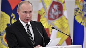 Tổng thống Putin kêu gọi tăng cường sức mạnh quân sự của Nga