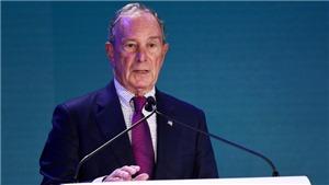 Cựu thị trưởng New York, tỷ phú Michael Bloomberg chi bộn tiền cho chiến dịch tranh cử tổng thống Mỹ