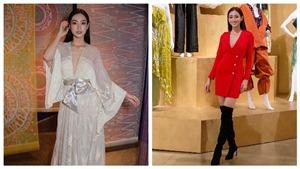 Hoa hậu Lương Thùy Linh ghi tên trong Top 10 phần thi Top Model