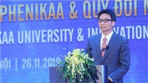 Phó Thủ tướng Vũ Đức Đam: Đại học không chỉ là nơi phổ biến tri thức, còn là nơi tạo ra tri thức