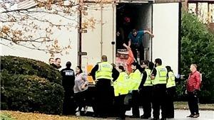 Cảnh sát Anh phát hiện 10 người nhập cư trong xe container tại Cambridgeshire
